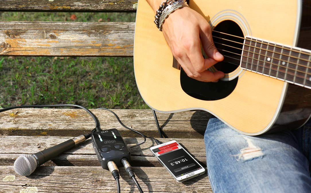 iRig Pro Duo - On or Off the grid