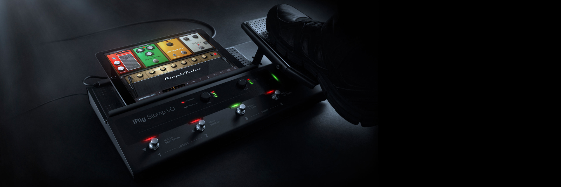 Irig Stomp I O Download Image Avr Usb Programmer Pc Android Iphone And Ipad Your Ultimate Tone Control Rig Ready To Rock Record