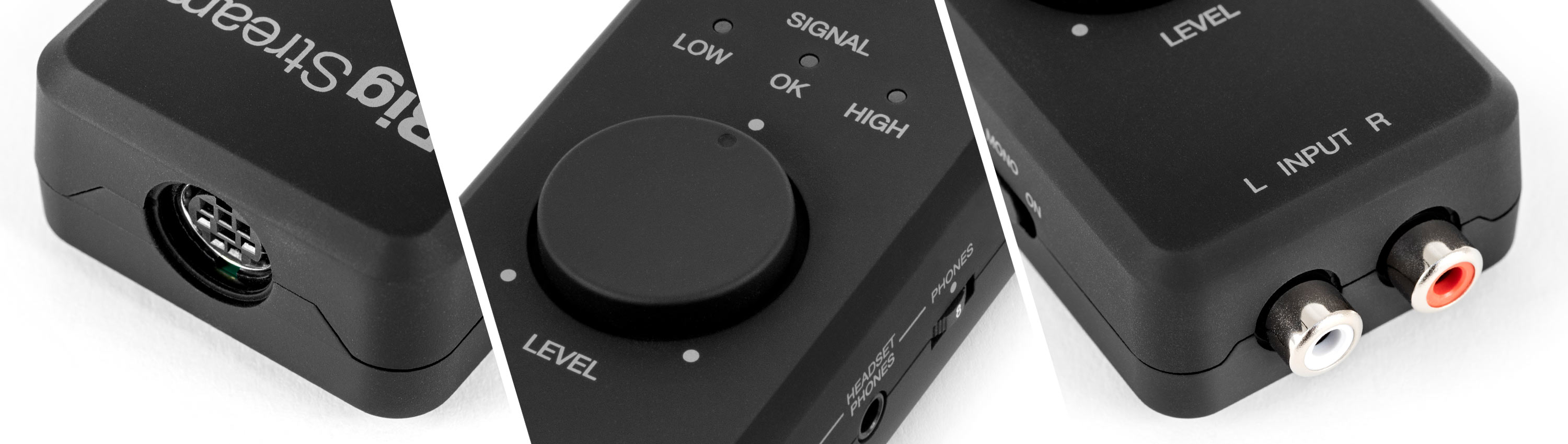 iRig Stream live-streaming audio interface