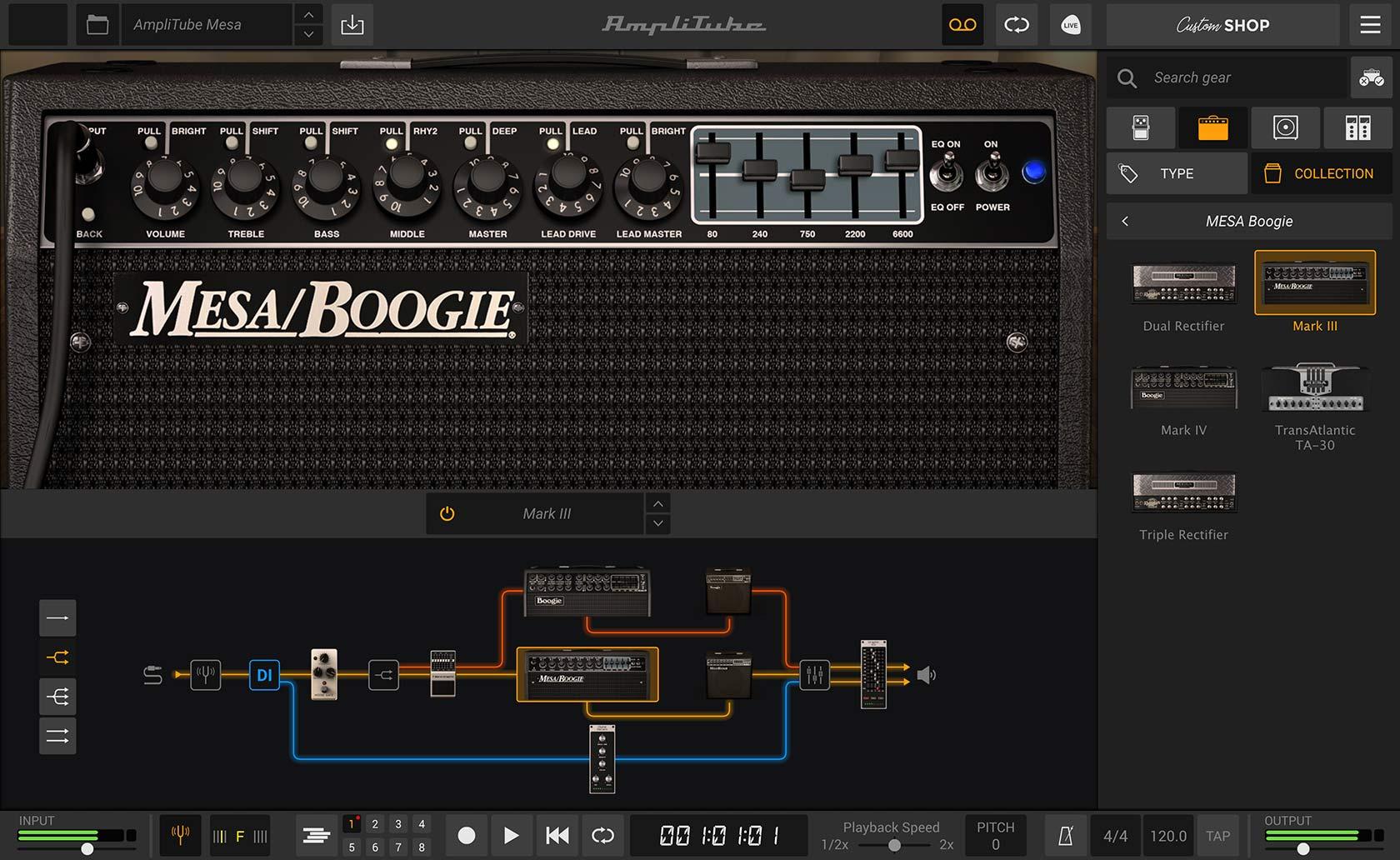 IK Multimedia - AmpliTube MESA/Boogie