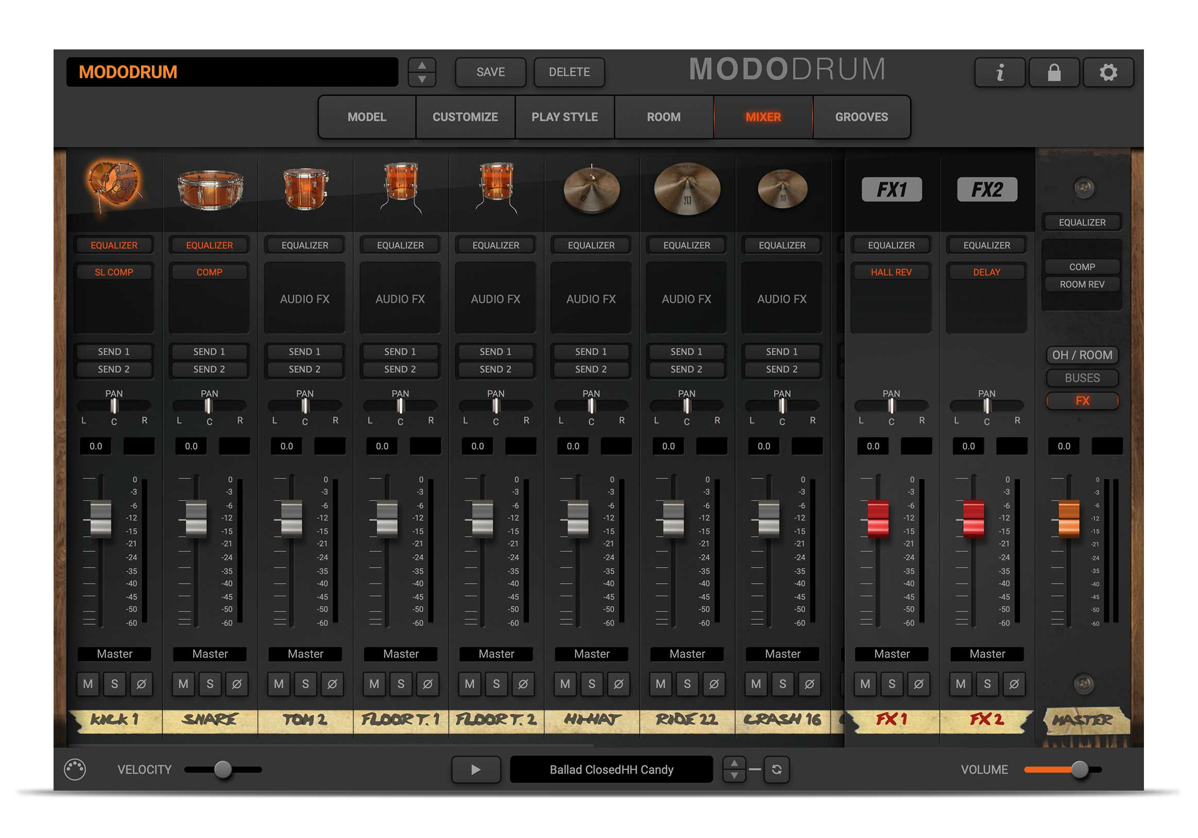 MODO DRUM - Fine tuning made easy