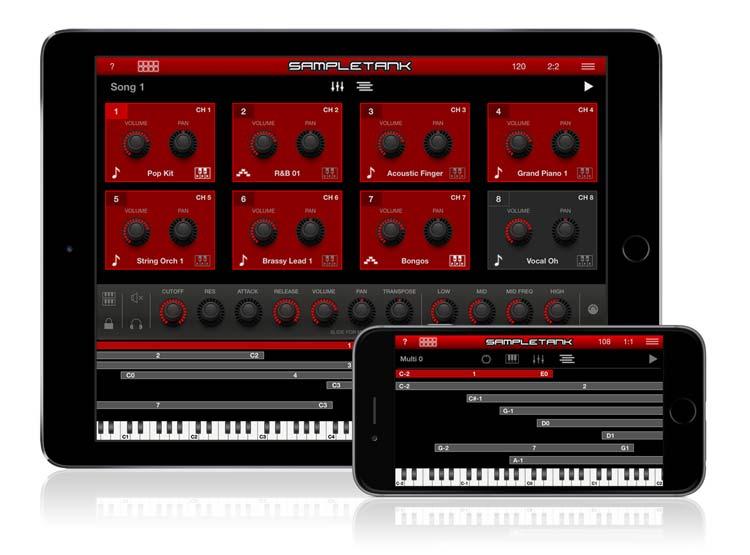IK Multimedia - SampleTank iOS