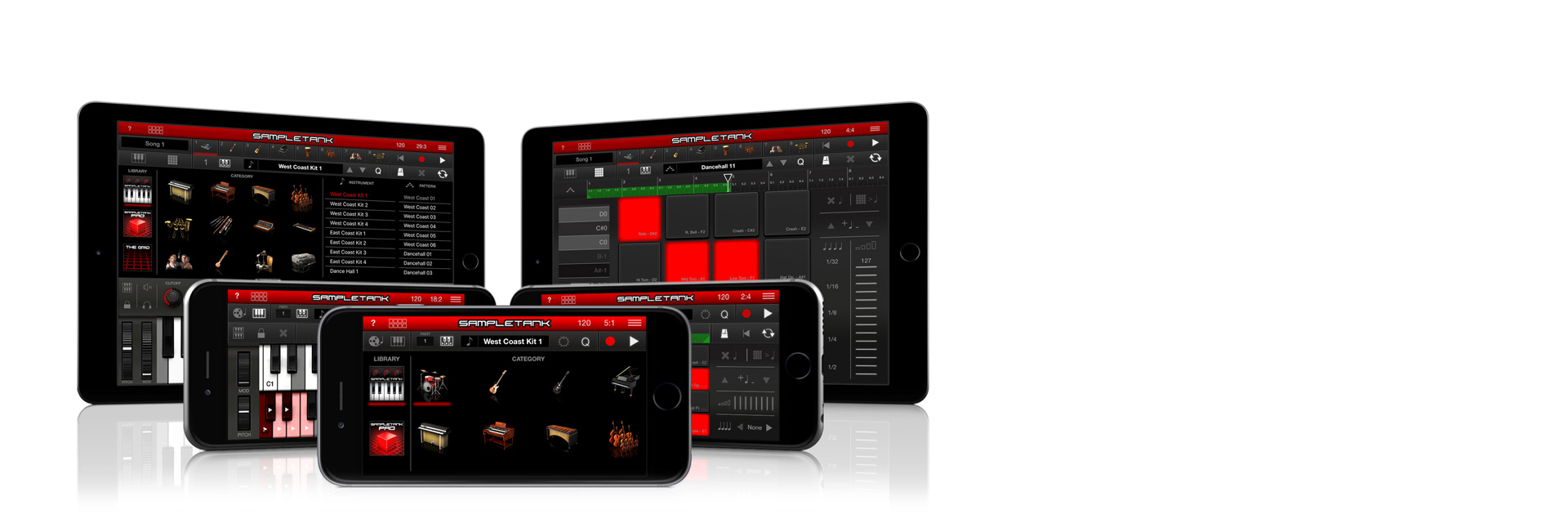 IK Multimedia - SampleTank iOS
