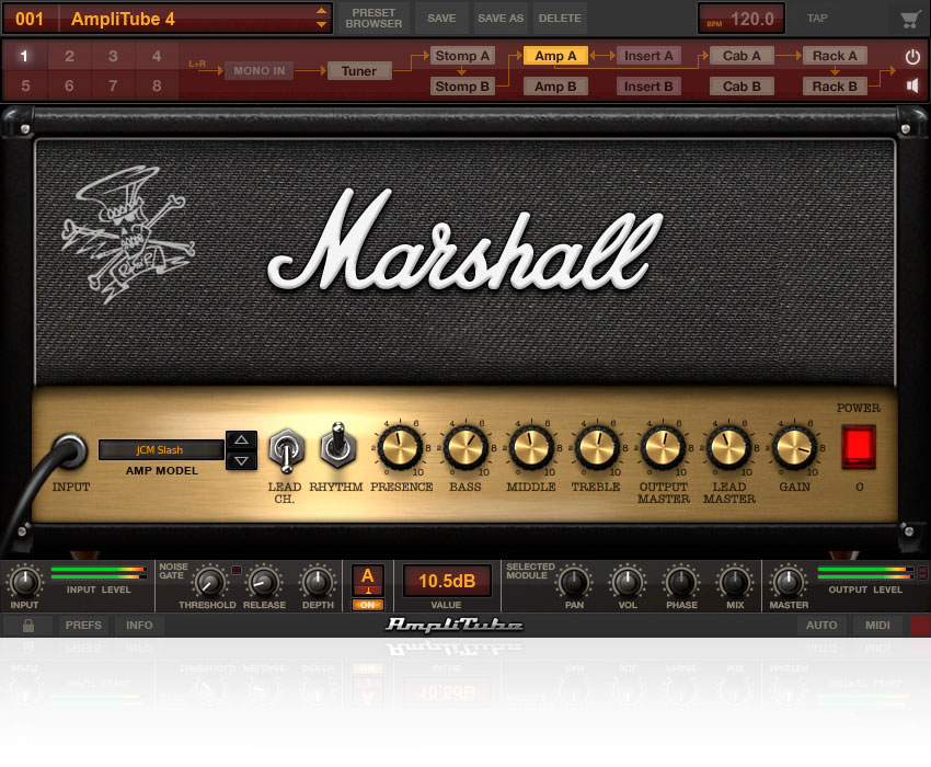 IK Multimedia - AmpliTube Slash