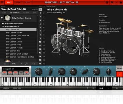 IK Multimedia - Billy Cobham Drum
