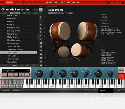 IK Multimedia - Cinematic Percussion