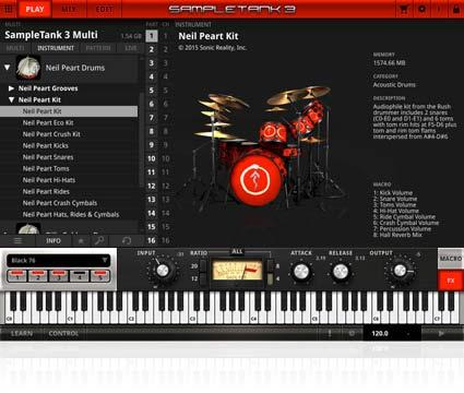 IK Multimedia - Neil Peart Drums
