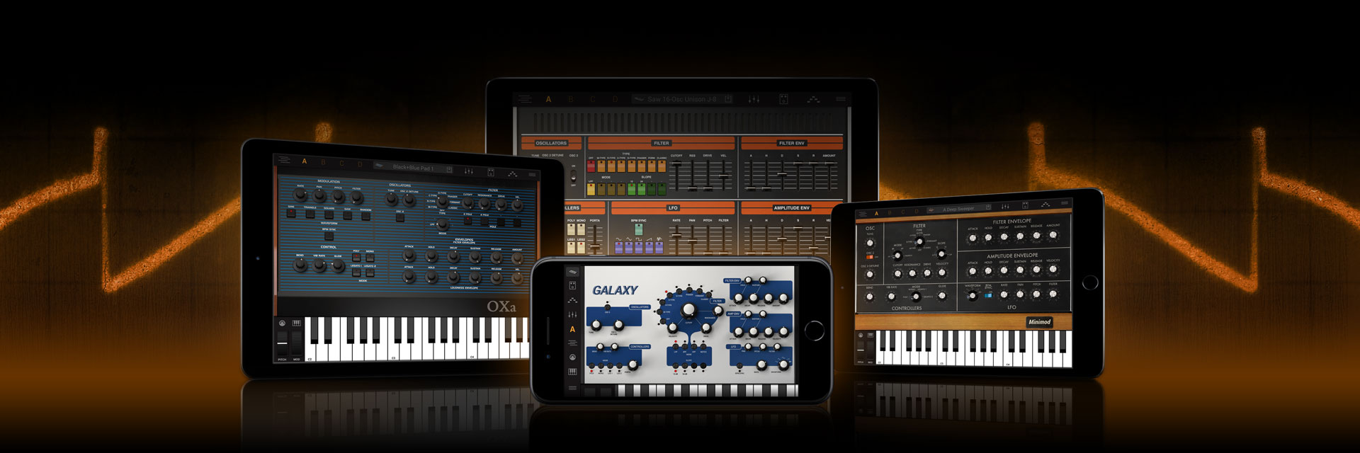 Ik Multimedia Syntronik Ios Download Image Darlington Pair Amplifier Circuit Pc Android Iphone The Legendary Synth Powerhouse For And Ipad