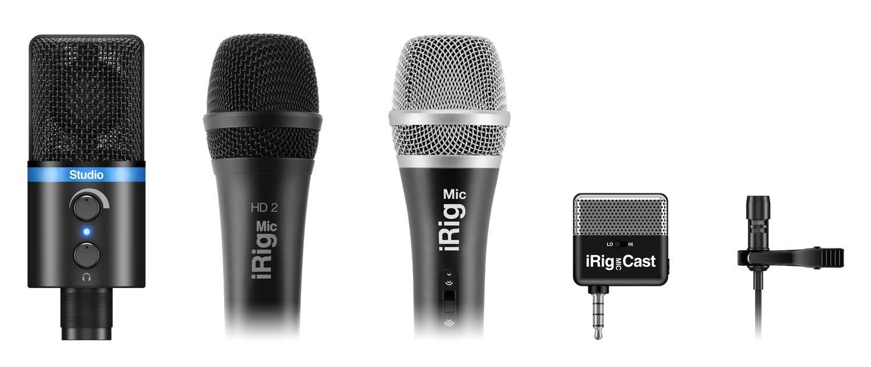 IK Microphone Range