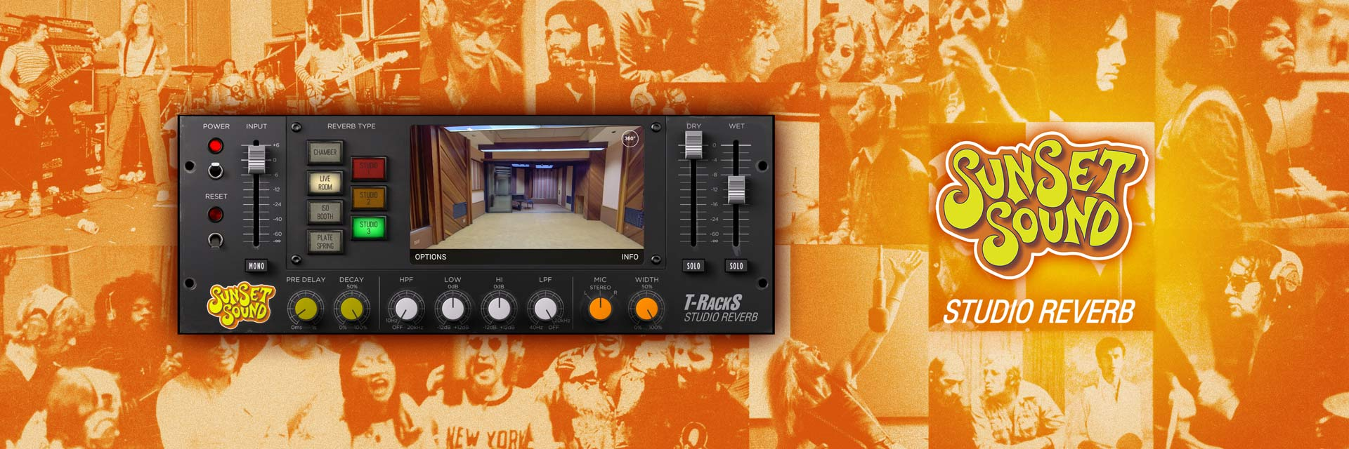 IK Multimedia Sunset Sound Studio Reverb software download
